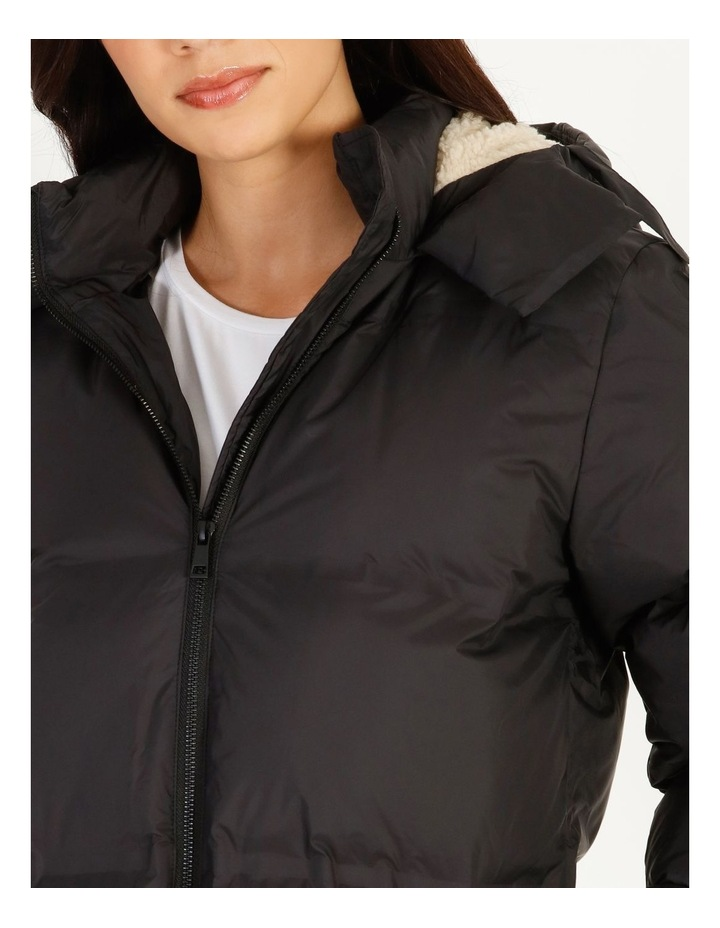 Recycled Long Puffer Jacket image 6