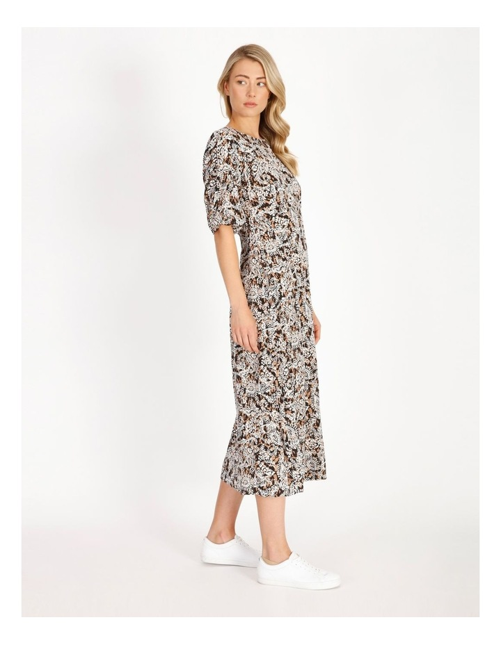Printed Crepe Midi Dress image 2