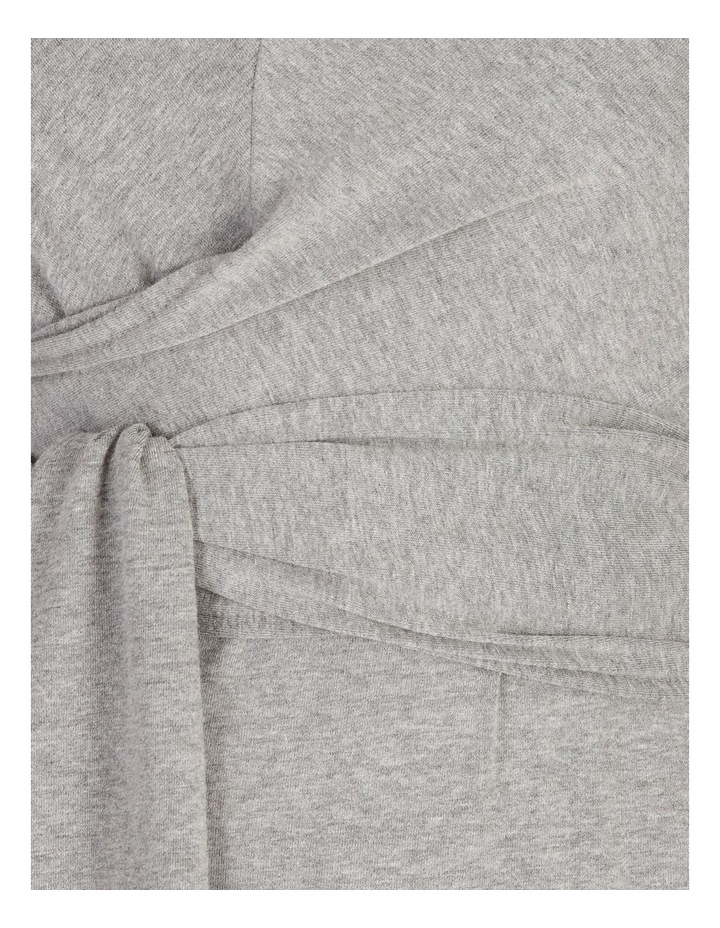 Sleeveless Knit Wrap Dress image 5