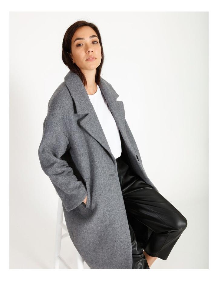 Oversized Boyfriend Coat image 2