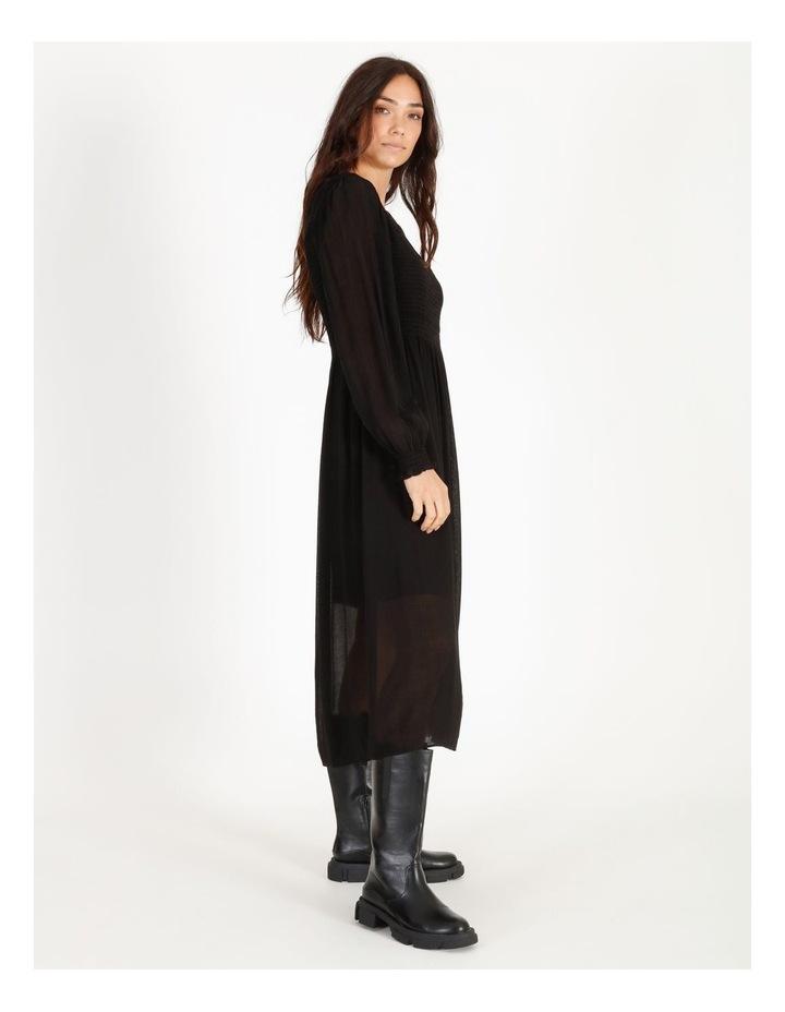 Shirred Midi Dress image 2