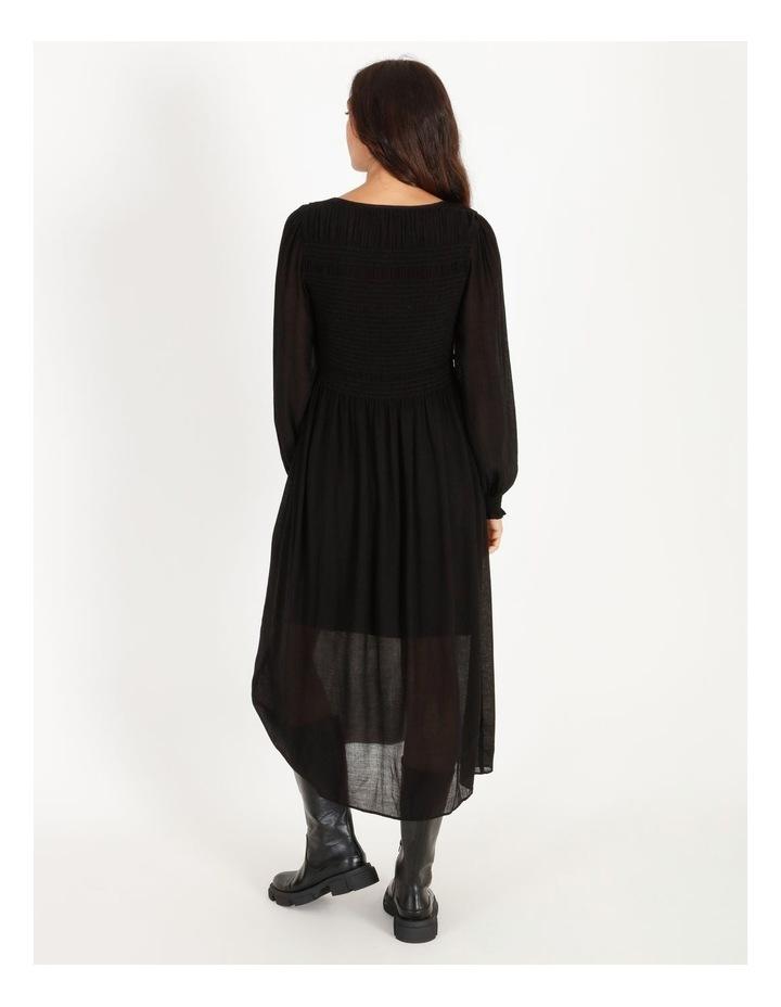 Shirred Midi Dress image 3