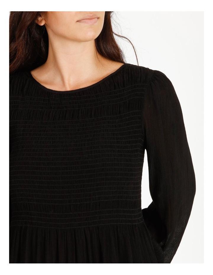 Shirred Midi Dress image 4