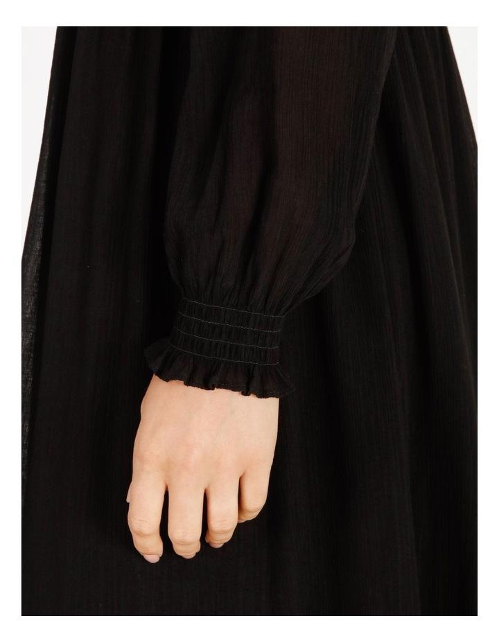 Shirred Midi Dress image 5