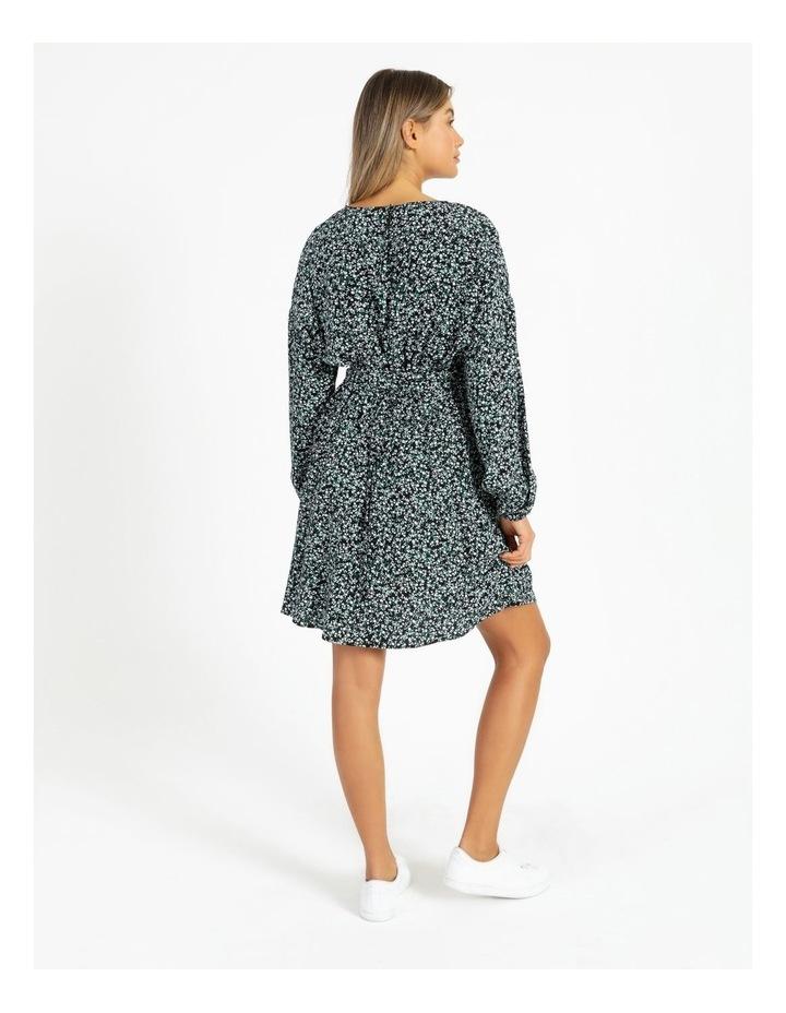 Crepe Mini Dress image 3