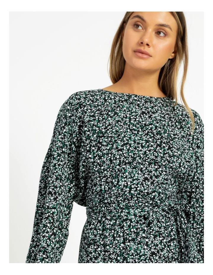Crepe Mini Dress image 4