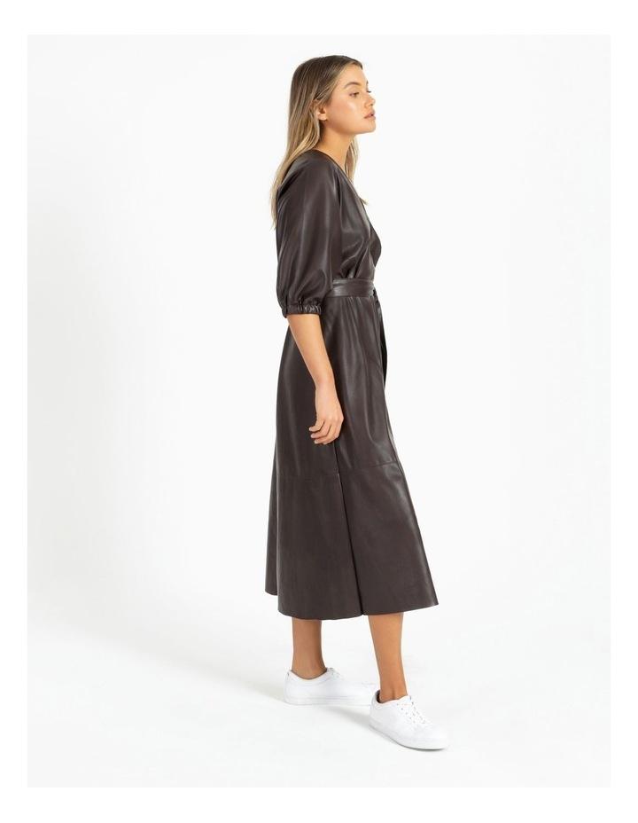 PU Midi Dress image 2