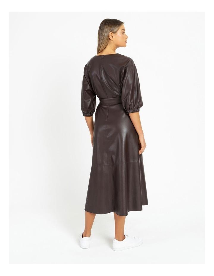 PU Midi Dress image 4