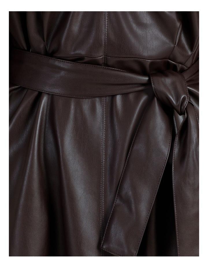 PU Midi Dress image 5