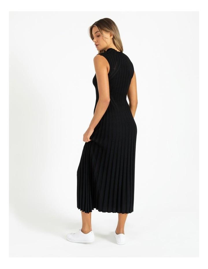 Stripe Knit Midi Dress image 3
