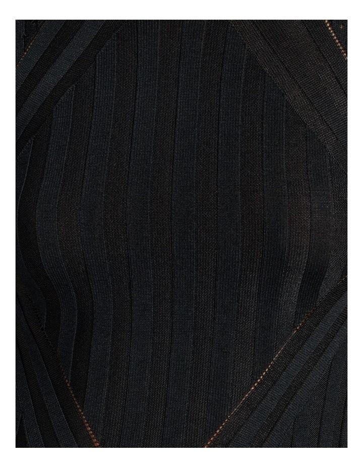 Stripe Knit Midi Dress image 5