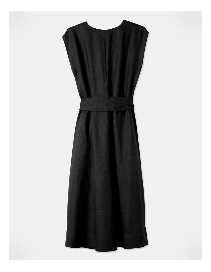 Organic Linen Sleeveless Dress image 3