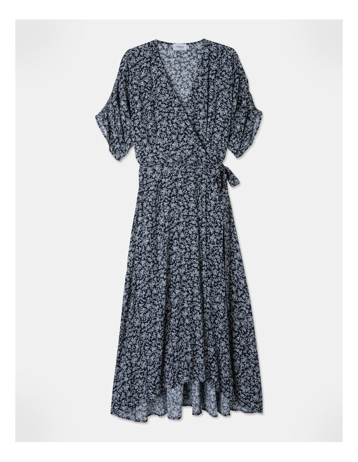 Ruched Sleeve Dress image 1