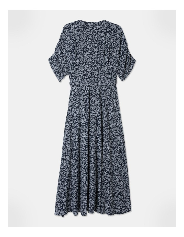 Ruched Sleeve Dress image 3