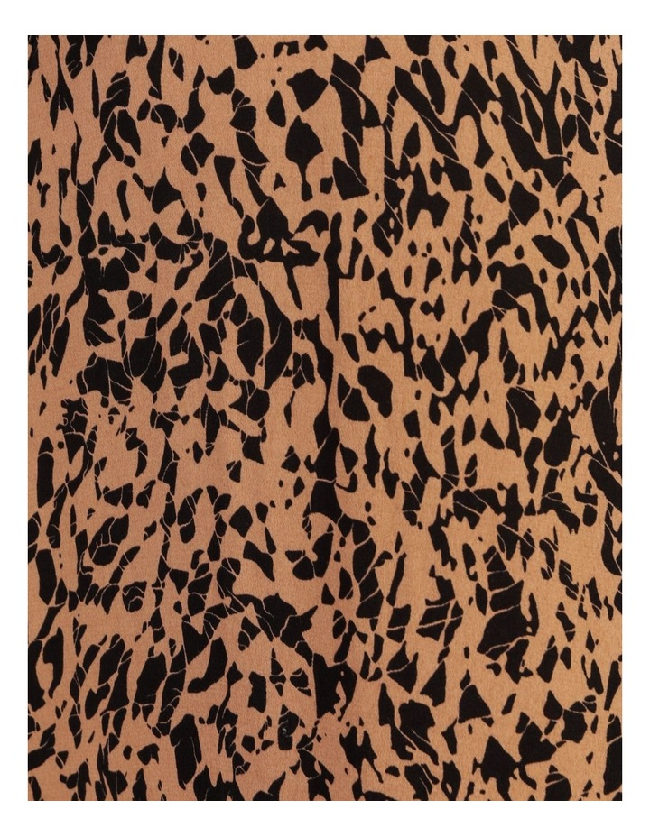 Printed Crepe Midi Dress image 6