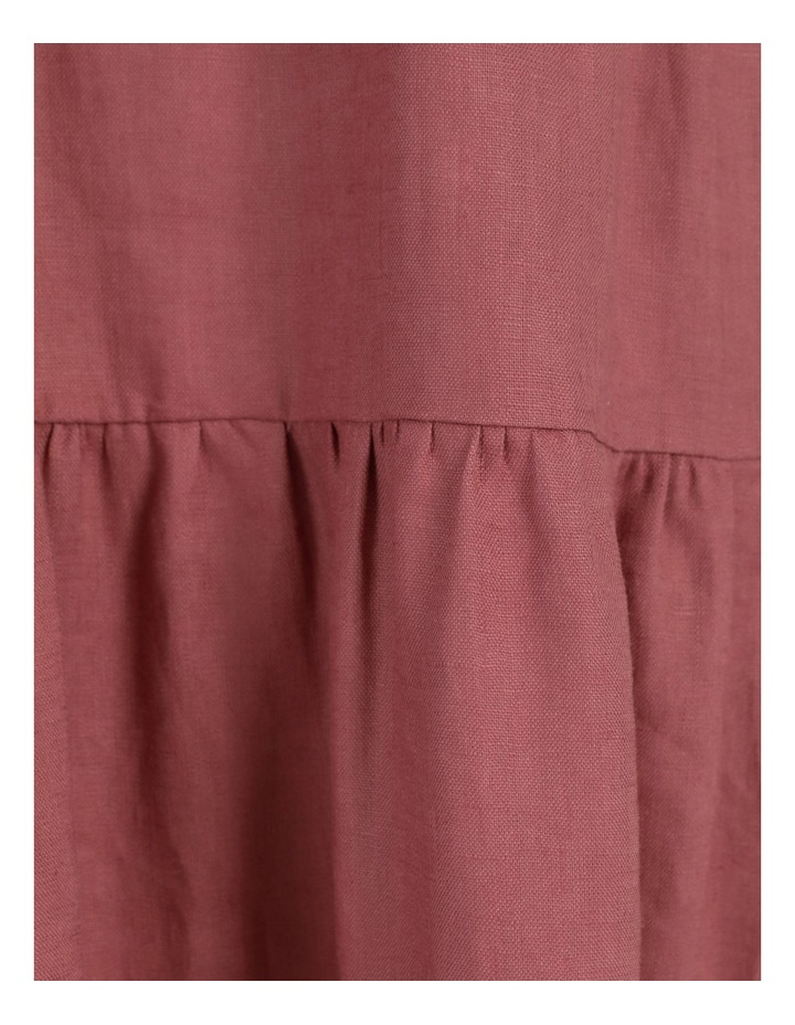 Organic Linen Tiered Tank Dress image 7