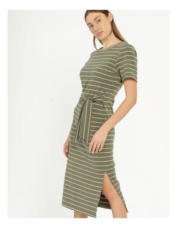 Kalamata/White Stripe colour