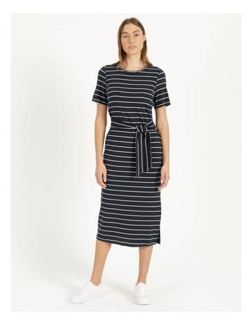 Navy/White Stripe colour