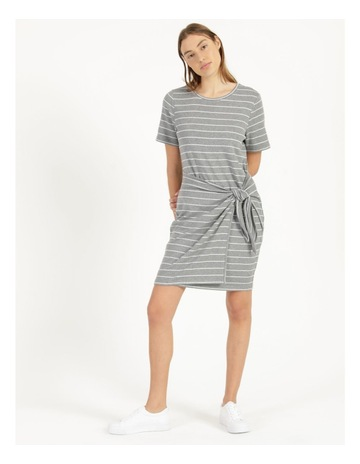 Grey/White Stripe colour