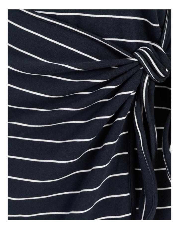 Stripe Mini Dress Navy/White image 7