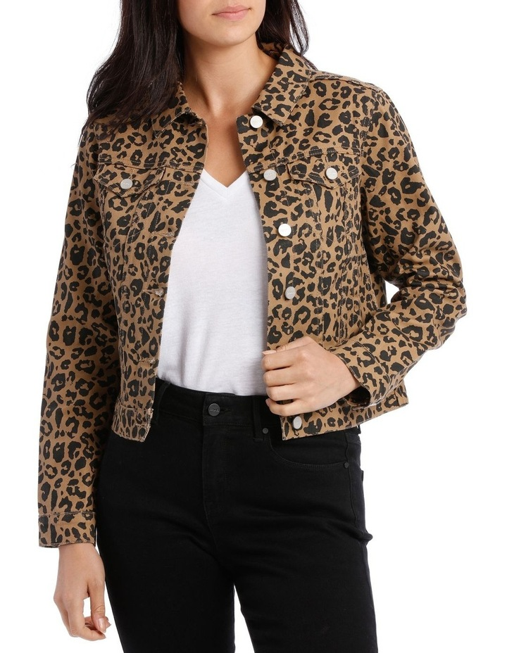 0cbe4d9c0ccd Grab | Leopard Print Denim Jacket | MYER
