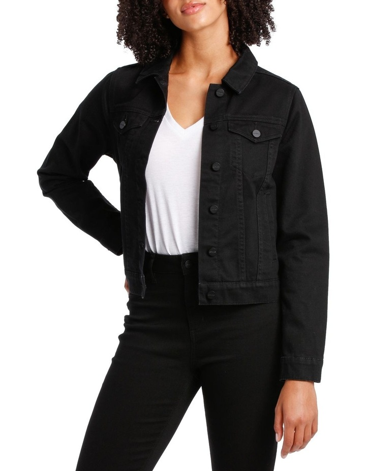 DENIM BLEEKER JACKET image 1
