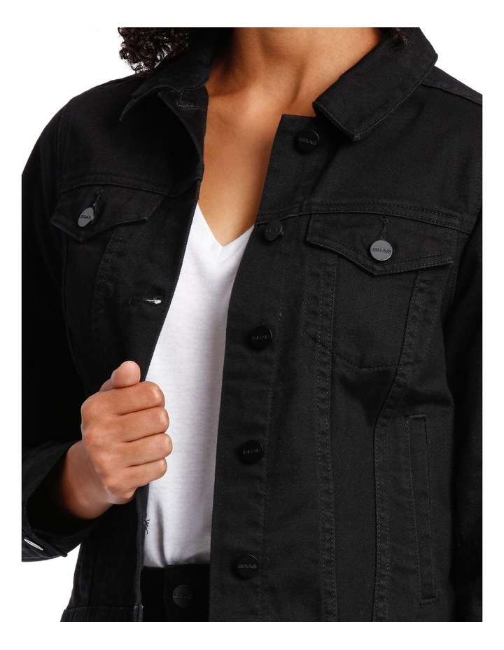 DENIM BLEEKER JACKET image 4