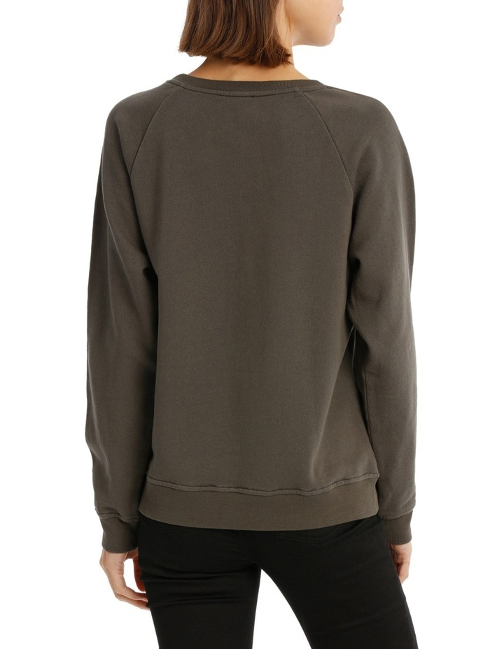 Sweat Top With Ruffles image 3