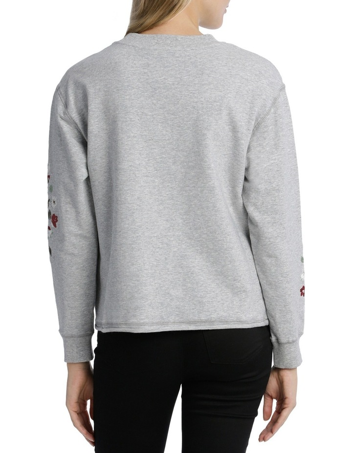 Sweat top with Embroidery on Sleeve image 3
