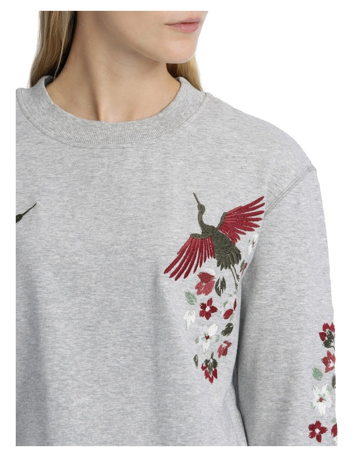 Sweat top with Embroidery on Sleeve image 4