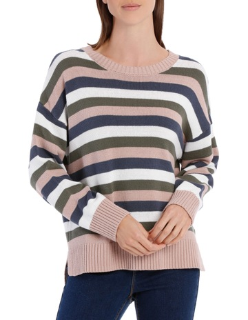 0641a380e913 Grab Crew Neck Boxy Jumper