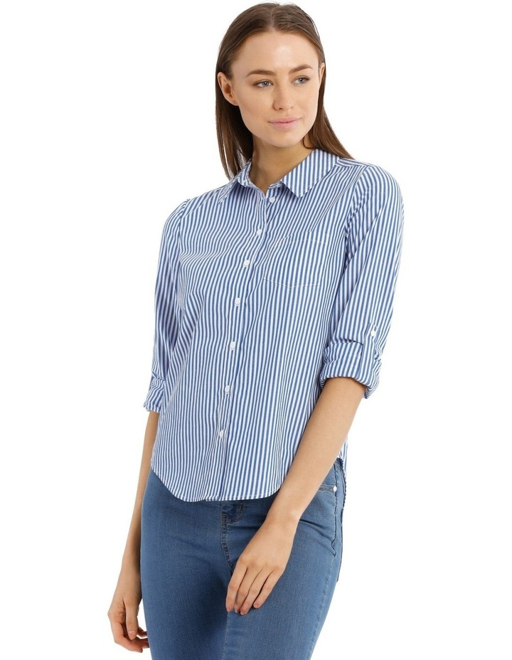 Striped Casual Soft Shirt image 1