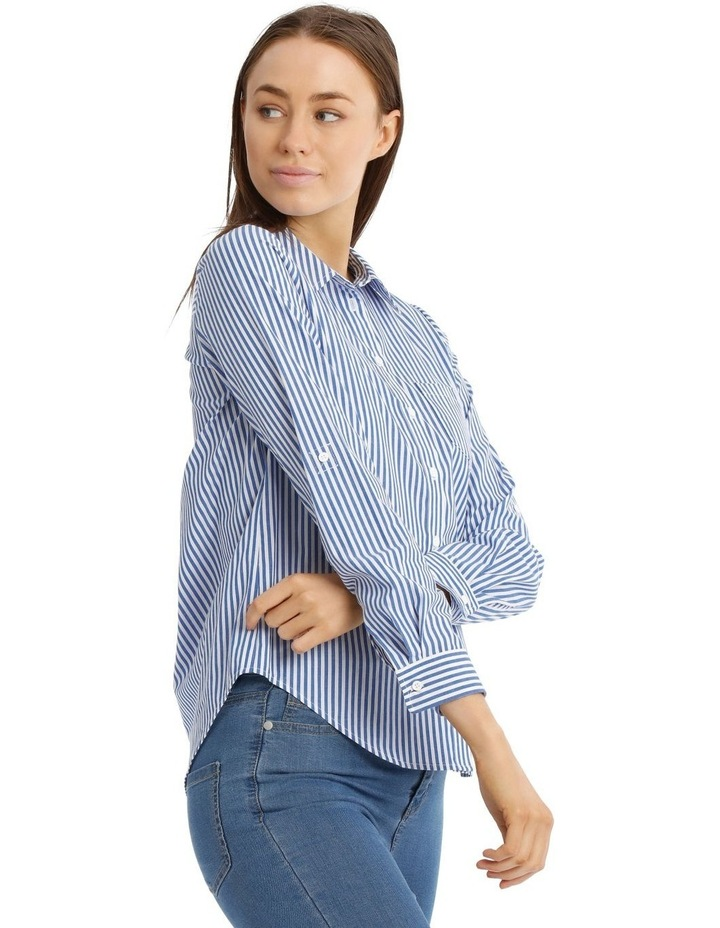 Striped Casual Soft Shirt image 2