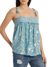 Grab - Top Cami with lace yoke