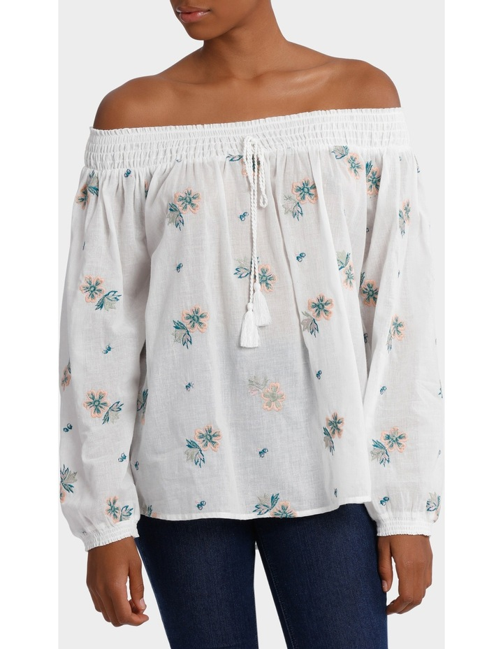 All-Over Embroidery Top image 1