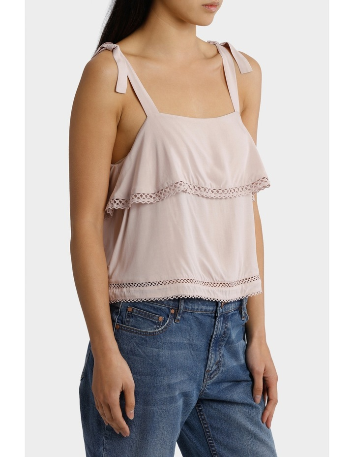 Cami Top with Ladder Lace Detail image 2