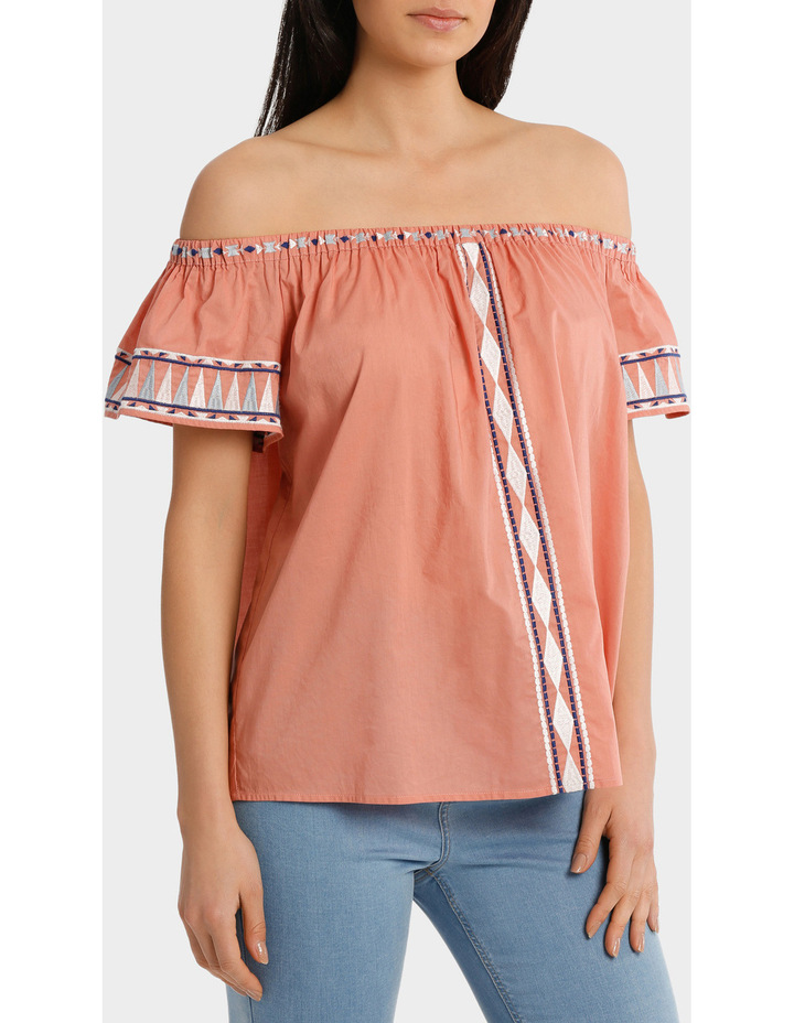 Top off shoulder Embroidery image 2