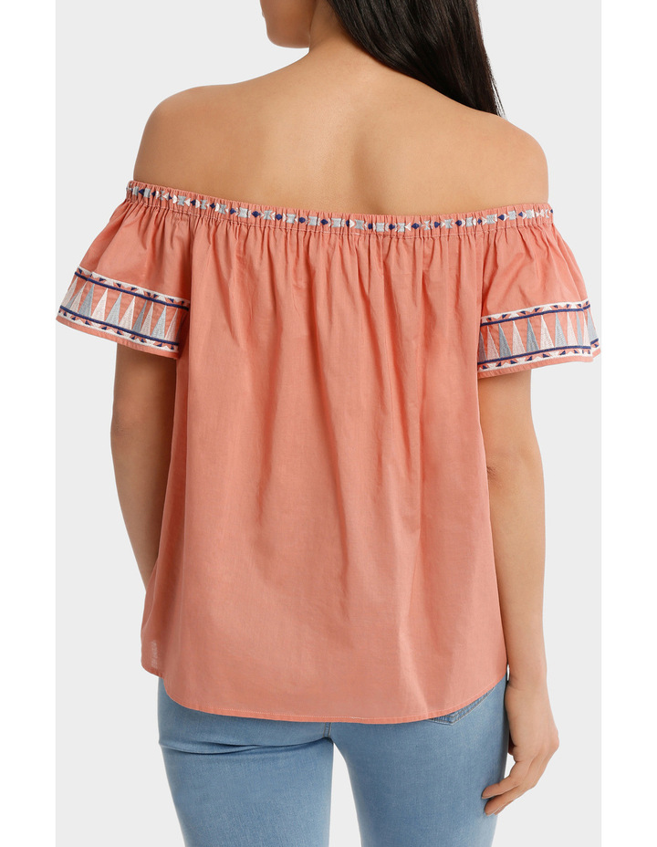 Top off shoulder Embroidery image 3