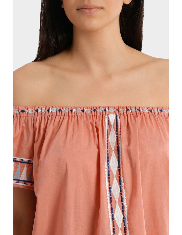 Top off shoulder Embroidery image 4