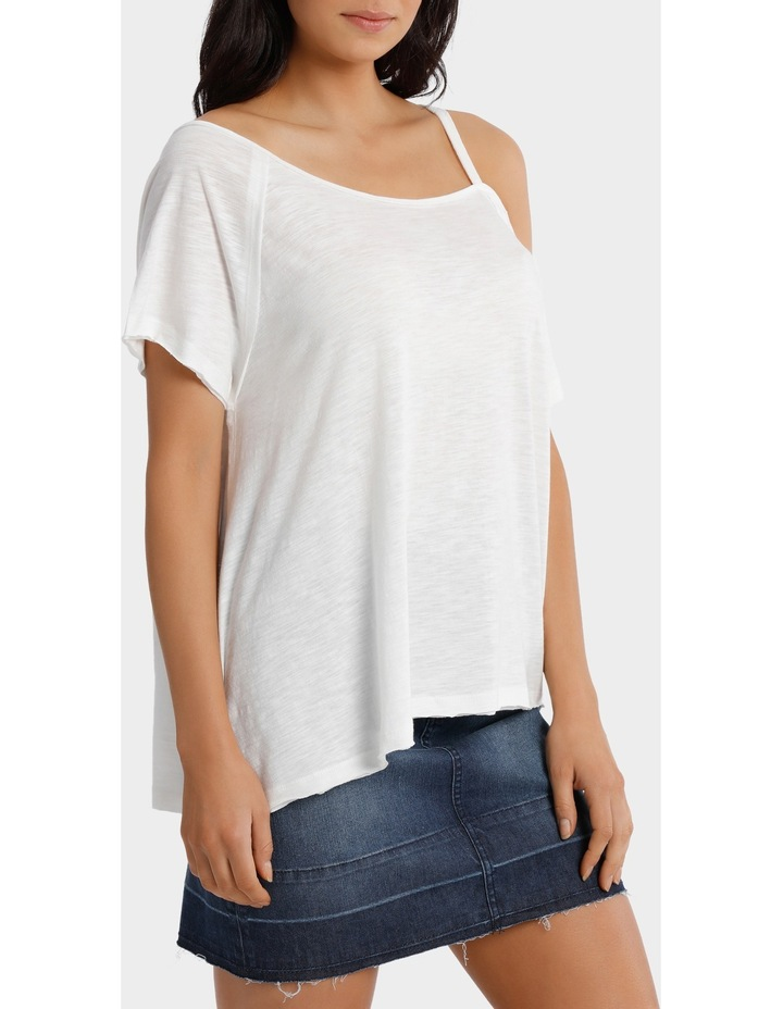 Tee Off shoulder slouchy image 2