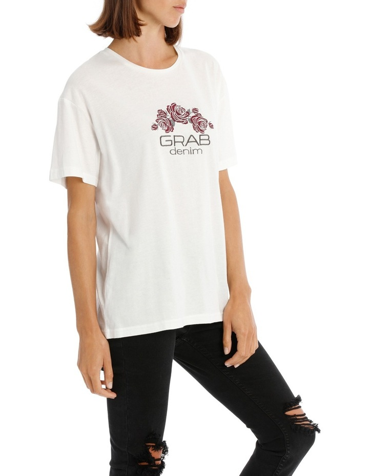 Tee with Logo and Embroidery image 2