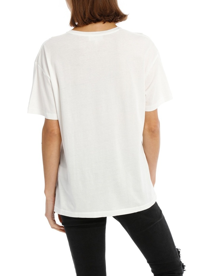 Tee with Logo and Embroidery image 3