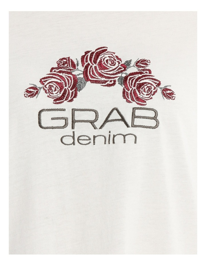 Tee with Logo and Embroidery image 4