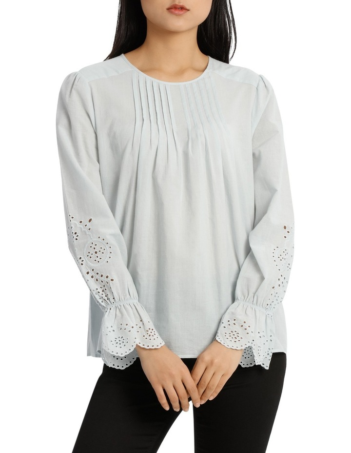 Top with Puff Sleeve image 1