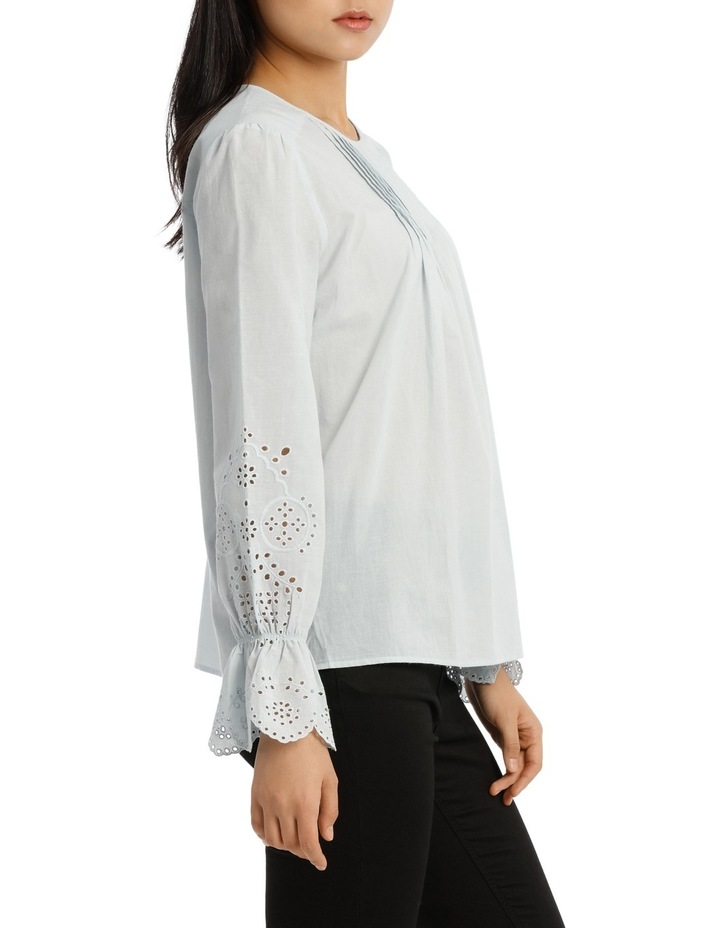 Top with Puff Sleeve image 2