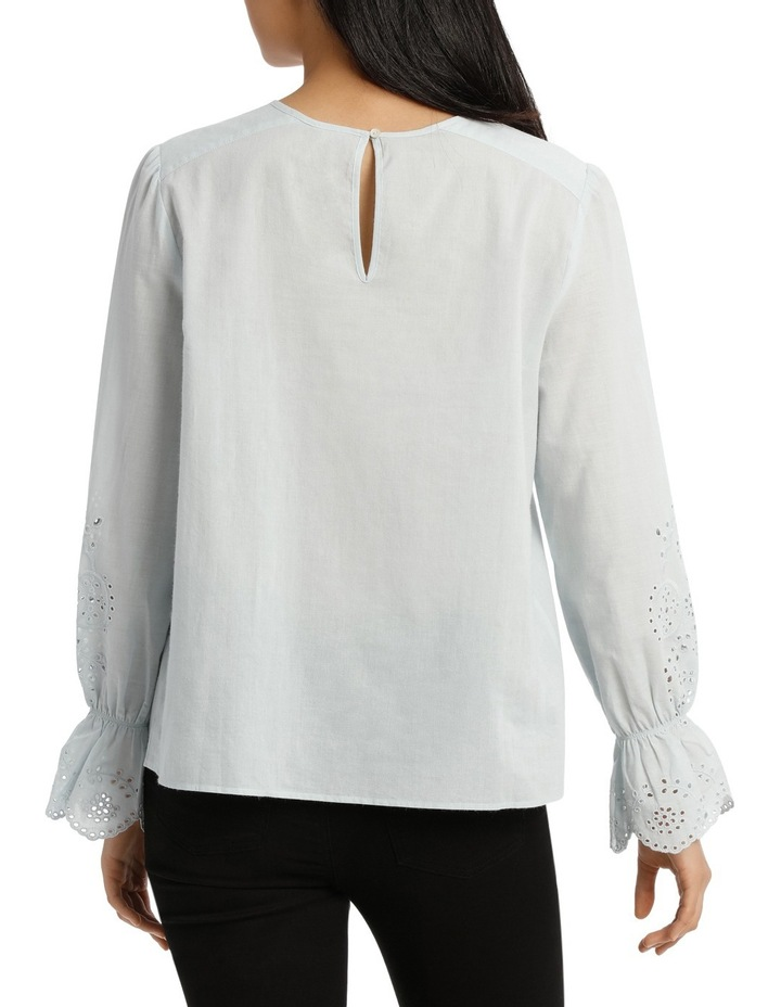 Top with Puff Sleeve image 3