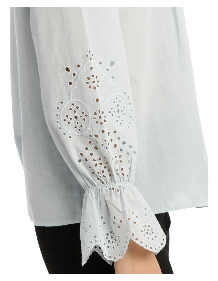 Top with Puff Sleeve image 4