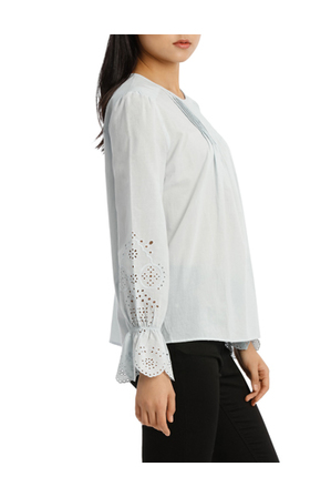 Grab - Top with Puff Sleeve