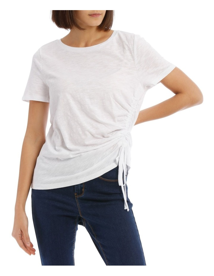 Ruched Side Detail Tee image 1
