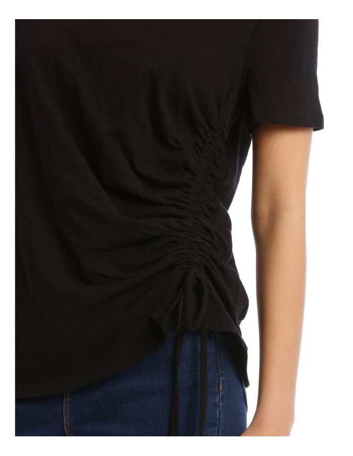 Ruched Side Detail Tee image 4